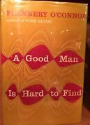 Flannery Oandrsquoconnor A Good Man Is Hard To Find First Edition Hc Dj
