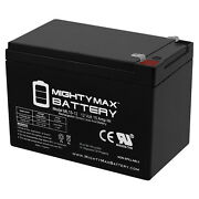 Mighty Max 12v 15ah F2 Replacement Battery For Peg Perego John Deere Gator