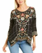 Johnny Was Sienna Blouse Womenand039s Xs