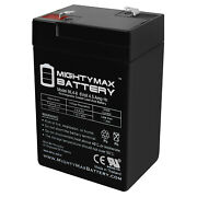 Mighty Max 6v 4.5ah Sla Battery Replacement For Mojo Mallard Floater