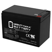 Mighty Max 12v 15ah F2 Battery Replacement For Hummingbird Fish Finder