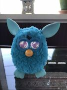 2012 Furby Boom Edition Teal Blue Electronic Interactive Doll Toy