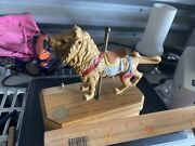 Rare Willitts Tobin Fraley Lion Music Box Figurine Rare As Shown Missing Part