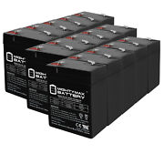 Mighty Max 6v 4.5ah Sla Replacement Battery For Mojo Robo Duck Decoy - 15 Pack