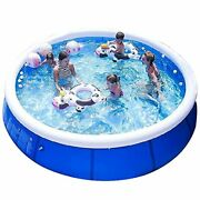Family Inflatable Swimming Pools Above Ground Portable Outdoor 10ft X 30in