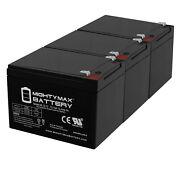 Mighty Max 12v 12ah Replacement Battery For Ademco Vista-250fbp Control - 3 Pack