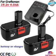 Charger/ For Craftsman C3 19.2 Volt Battery 11375 130279005 11376 Cordless Drill