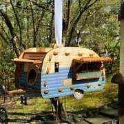 Paintable Camper Bird House Playset You Can Snap Together And Use Bring Back Th