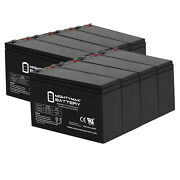 Mighty Max 12v 8ah Battery Replacement For Humminbird Fishfinder 570 - 8 Pack