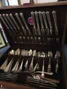 Over 90 Pieces Of Rogers Brothers Silverware In A Nakens Case