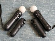 Playstation 3 Ps3 Move Bundle 2x Motion And Navigation Controllers
