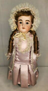 Kestner Bisque Jointed Kid Leather Body 10 154 Dep German Doll W Clothes 21