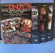 Tna Anthology The Epic Dvd Set Victory Road Turning Point 2004 Lockdown 2005