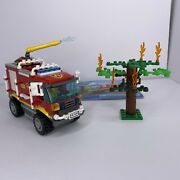 Lego City 4208 4x4 Fire Truck Firefighter 100 Complete With Instructions