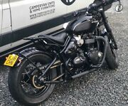 Triumph Bobber/speedmaster Long Drag Pipes Black + Xpipe Hitchcox Motorcycles