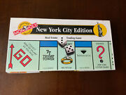 New York City Edition Monopoly Board Game Authorized Version 1995 Real Estate