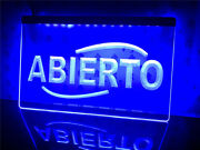Abierto Beer Bar Club Pub Led Neon Light Sign Gift Home Room Decore Size 12 X 8