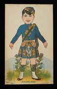 1920s Scotland Cut-out Doll Fogelson's Better Bread Fogelson's Bakery Newton Nj