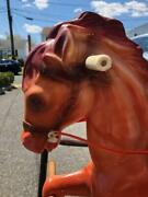 Vintage Wonder Horse Bouncing Rocking Horse Collectible Local Pickup Only