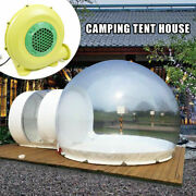 Inflatable Commercial Grade Pvc Clear Eco Dome Camping Bubble Tent With Blower