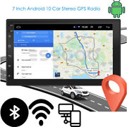 7 Android 10.0 Car Stereo Gps Navigation Radio Player Double Din Wifi Usb Fm/am