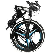 26and039and039 Folding Mountain Bike 21 Speed Bicycle Full Suspension Mtb Bikes Us Stock