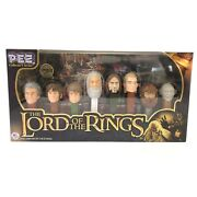 The Lord Of The Rings Pez Gift Set Collectors Series Limited Edition 2011 New