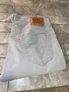 502 Mens Jeans 34x34 Super Soft Material Euc Free Shipping And Returns