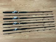 4 Pack Okuma Classic Pro 7and0390 Lead Core Trolling Rod Cp-lc-70