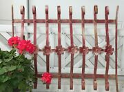 Vintage Wrought Iron Architectural Gate/fence Salvage