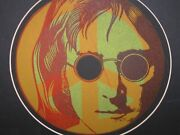 Vintage John Lennon Signed And Numbered Lithograph Or Art Print- Framed- Peace