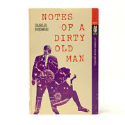 Notes Of A Dirty Old Man, Charles Bukowski. First Edition Signed W/ Drawing.
