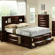 Picket House Furnishings Madison King Storage Bed In Mahogany