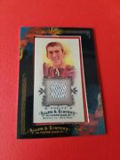 Michael Phelps Worn Relic Swatch Card Allen And Ginter 2009 Usa Olympic Swimming