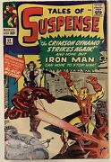 1964 Tales Of Suspense 52 1st Appearance Of The Black Widow