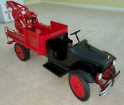 Buddy L Steel Auto Wrecking Truck Tow Truck Nib Reproduction Thomas Toys 1930s