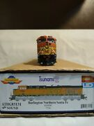 Ho Scale Locomotive Dcc And Sound Athearn Genesis. Bnsf Faded. Athg83131.