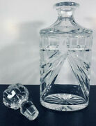 Crystal Waterford Decanter Overture With Original Crystal Stopper