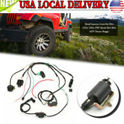 Wiring-harness Loom Solenoid Coil Rectifier Cdi 50 70 90 110cc For Atv Quad Bike