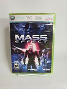 Mass Effect Xbox 360 2007 Do Not Sell Before 1st Print - New Sealed