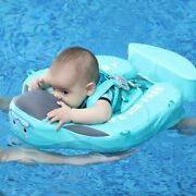 Non Inflatable Baby Swim Ring Float Infant Floater Swim Trainer Bathtub Pool Toy