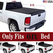 6and039 Fit 05-20 Frontier 09-12 Equator Soft Vinyl Roll-up Truck Bed Tonneau Cover