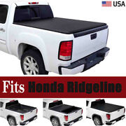 For 2017 2018 19 2020 2021 Honda Ridgeline Soft Roll Up Truck Bed Tonneau Cover