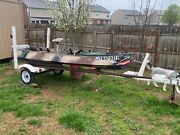 Riverhawk Fishing Boat Stable Fast Shallow Draft