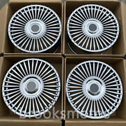 21 Chrome Style Staggered Forged Wheels Rims Fits Rolls Royce Ghost Phantom