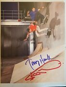 Tony Hawk And Steve-o Autographed Signed 8x10 Skateboard Photo Sold Out Limited Ed