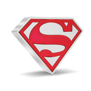 2021 Niue Superman - The Man Of Steel 1 Oz Silver Coin Shield - Shipping Now