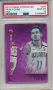 2019 Panini Chronicles Essentials Pink Trae Young 205 Psa 10 Gem Mint