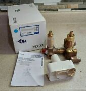 Toto Tstdr Thermostatic Mixing Valve W Dual Volume Control, Soiree Residential