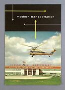 Sikorsky S-58 S-55 Helicopter Manufacturers Sales Brochure
